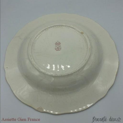 Plate 1 Gien France