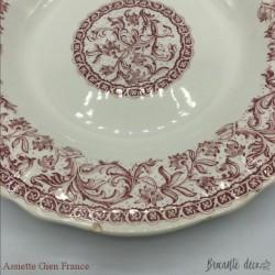 Plate 2 Gien France