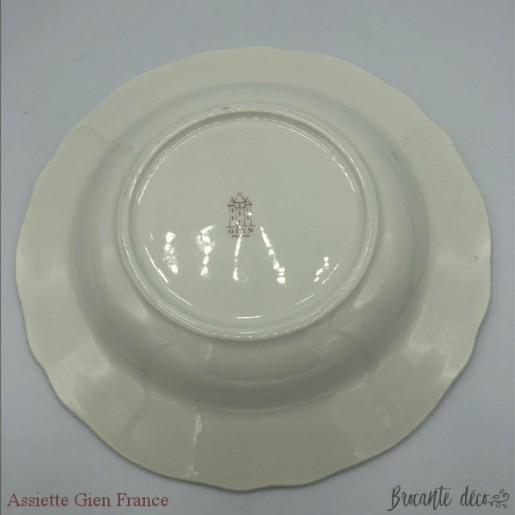 Plate 3 Gien France