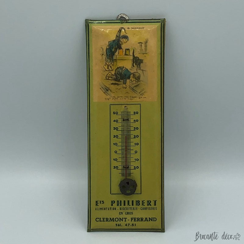 Advertising thermometer...