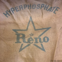 Sac en toile de jute | RENO | Hyperphosphate | Farmhouse