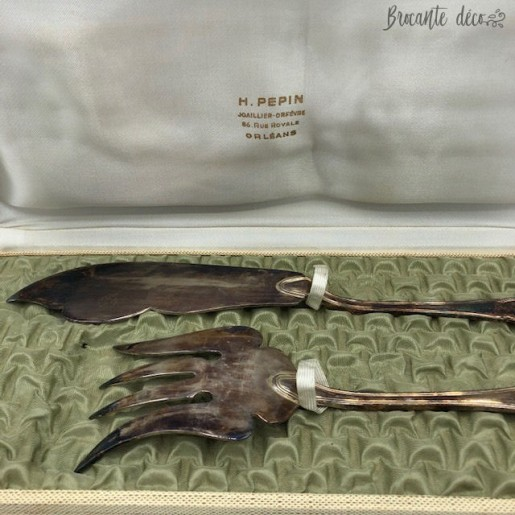 "♔ Set of cutlery serving fish ""Ercuis"" ♔"