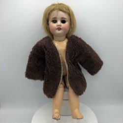 Ancien cardigan veste de poupée  | Manteau de poupée