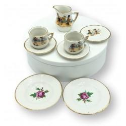 Old porcelain dinette | Dinette | Old toys