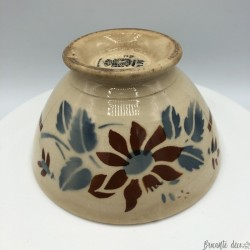 Old small Digoin bowl Sarreguemines France | Diameter 12 cm
