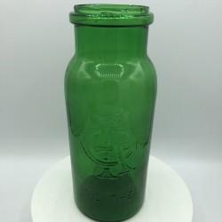 Ancien bocal en verre   Vert   1 Litre