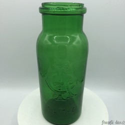 Old glass jar | Green | 1 litre