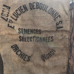 Old burlap bag | LUCIEN DEBOULONNE | Farmhouse