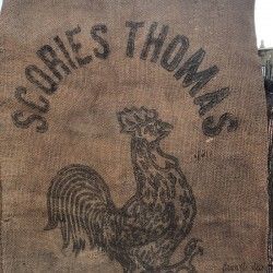 Old burlap bag | THOMAS SCORIES | Farmhouse