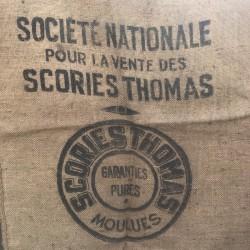Ancien sac en toile de jute | SCORIES THOMAS | DIY | Farmhouse