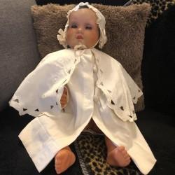 Ancienne robe cape | Baptême | Cérémonie | Vêtements anciens pour enfant