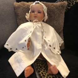 Old cape dress | Baptism | Ceremony | Old children's clothing