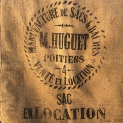 Old burlap bag | M. HUGUET POITIERS | DIY | Sewing