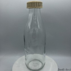 Old bottle of milk | Glass | Kitchen decoration | Farmhouse