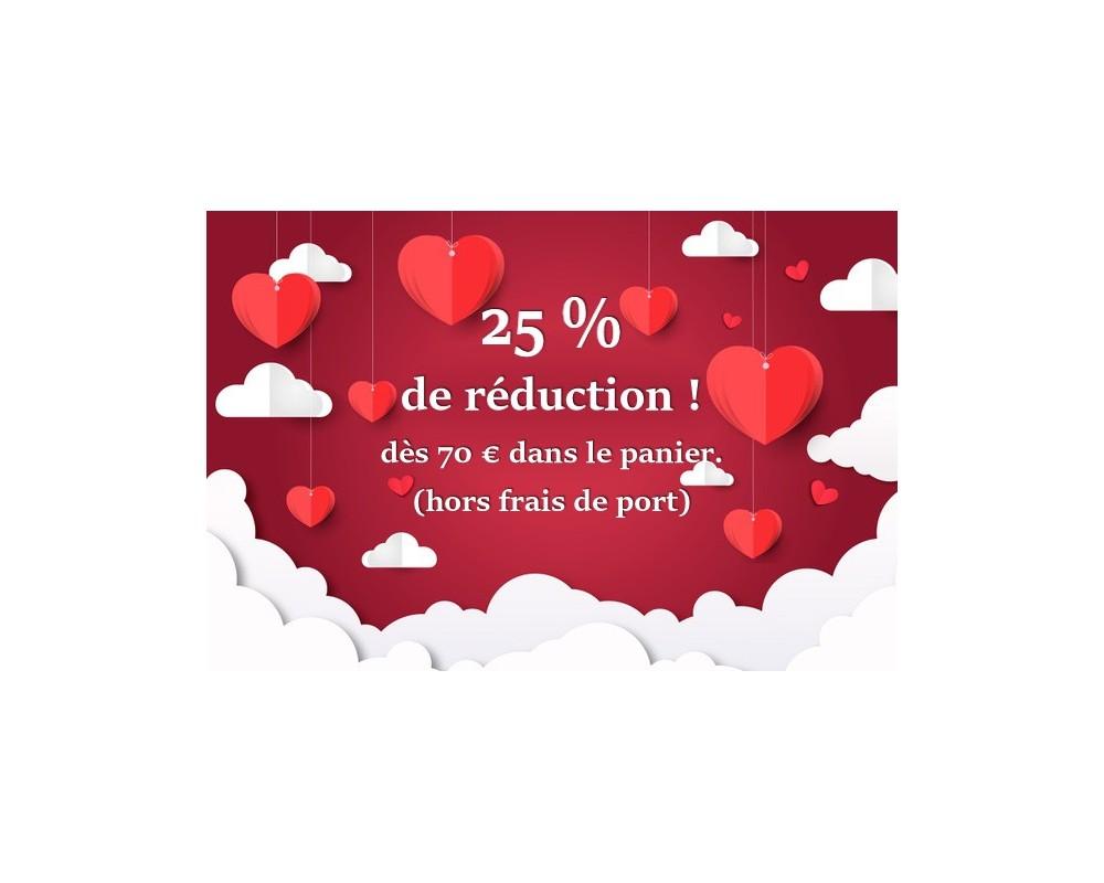 Profitez de l'offre St Valentin